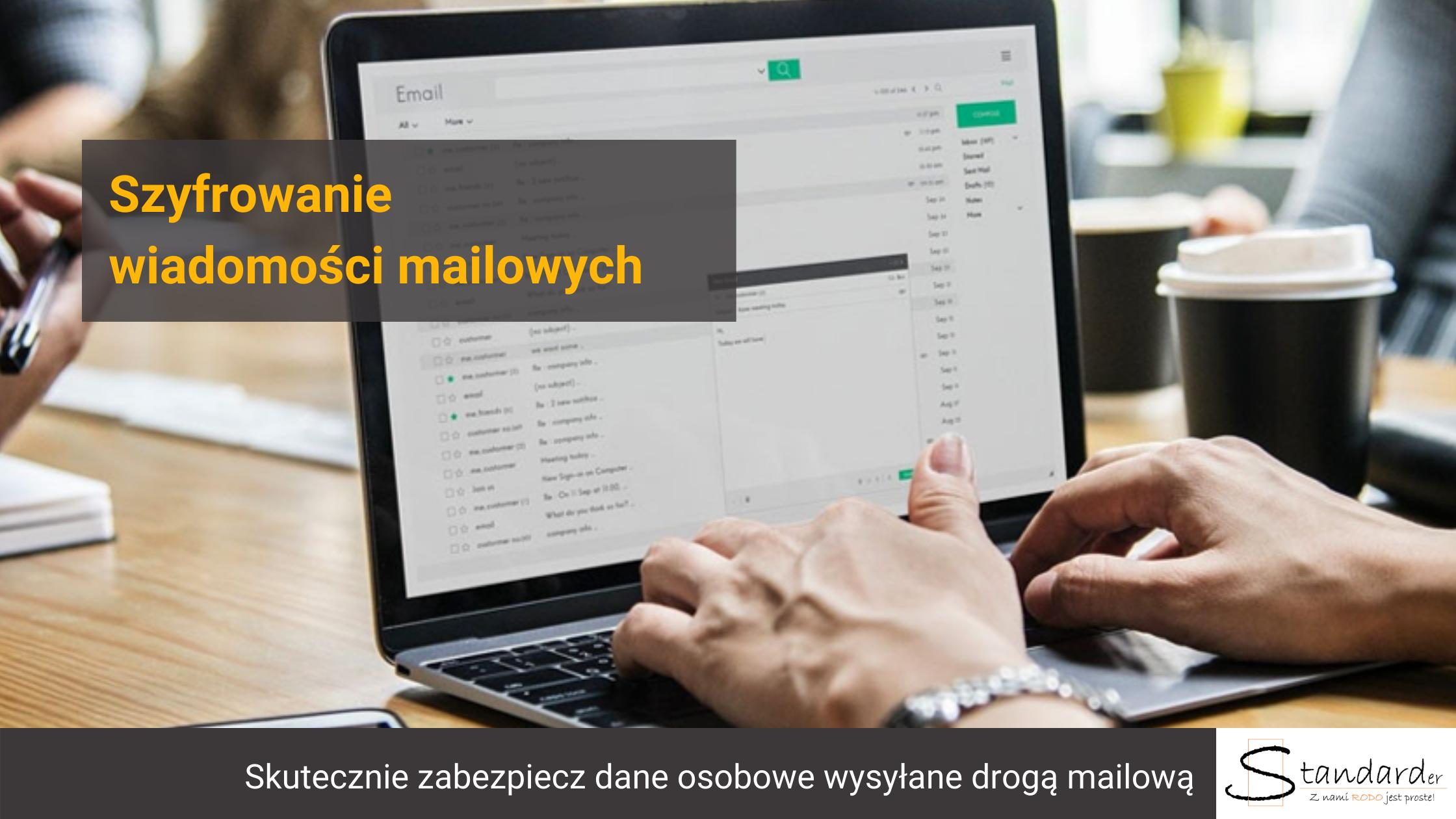 szyfrowanie wiadomości mailowych