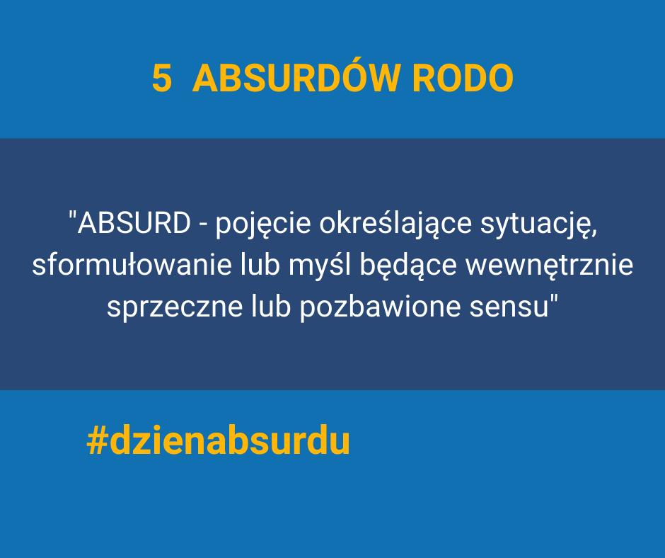 Absurdy RODO - 5 przykładów