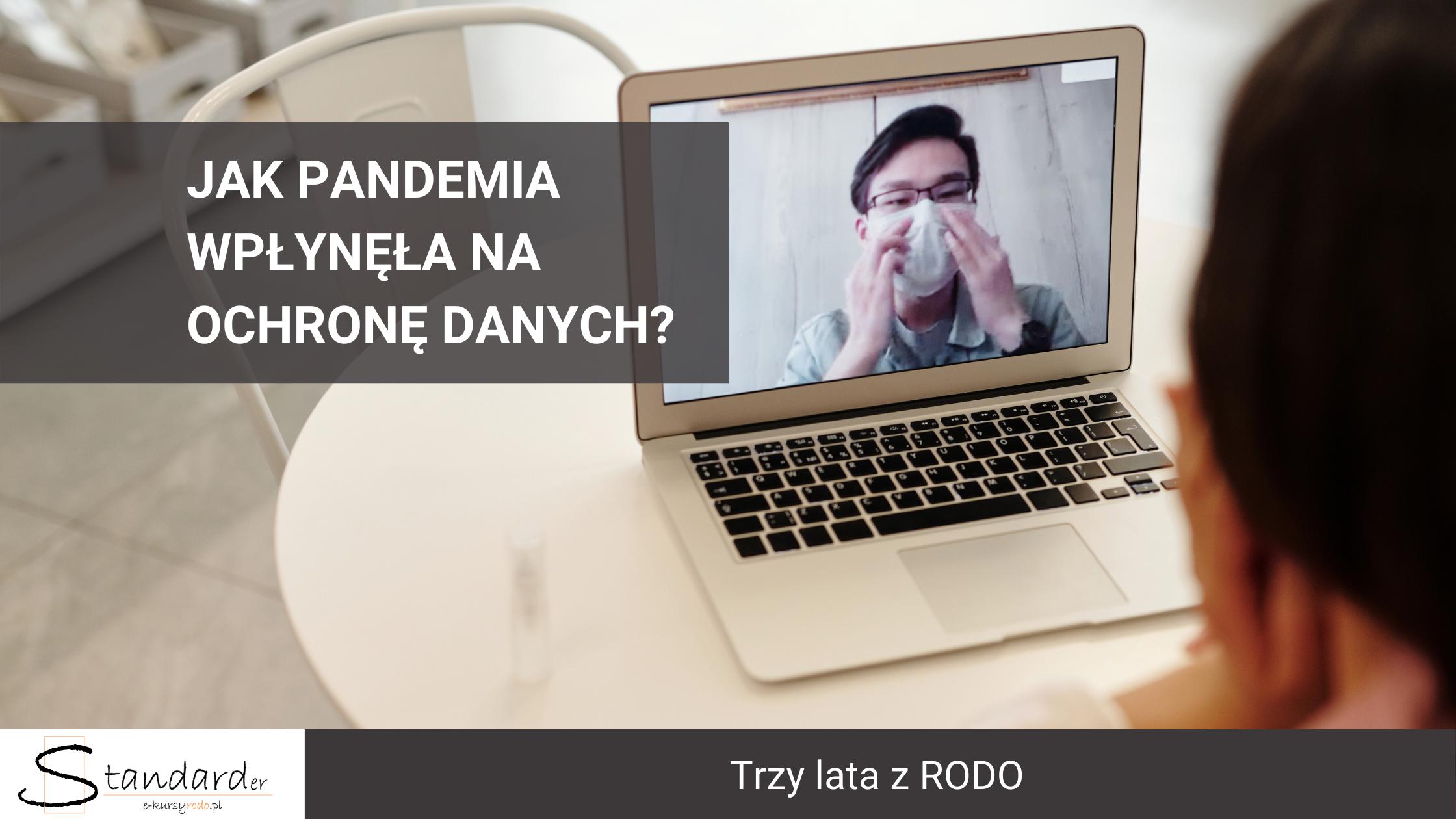 pandemia a ochrona danych